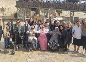 ביקור בירושלים עם נשות גיל הזהב מירוחם
